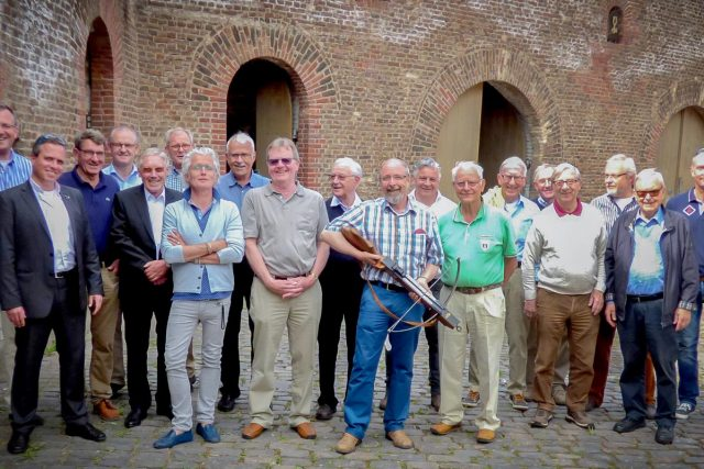 Die Jülicher St. Antonii- und Sebastiani- Armbrust-Schützenbrüderschaft