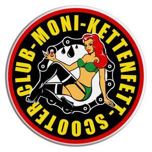 """Logo des """"Moni Kettenfett Scooter Clubs""""   Abbildung: Verein"""