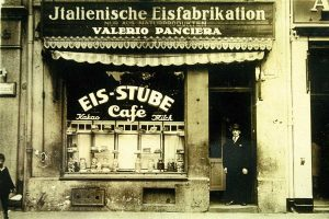 Eis-Stube Panciera in Köln 1924 | Foto: Panciera