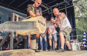 Holzhackermeisterschaft 2017 | Foto: Marcel Kanehl