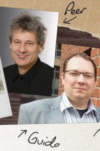 Redakteure Guido und Peer   Grafik: HZG