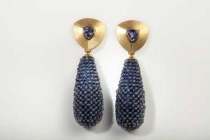Ohrringe entworfen von dem Goldschmiede Guido Molls | Foto: Guido Molls