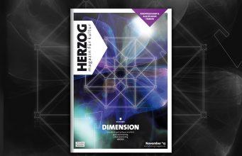 HERZOG Magazin #11 - Dimension