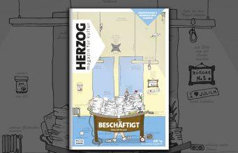 HERZOG Magazin #19 - Beschäftigt