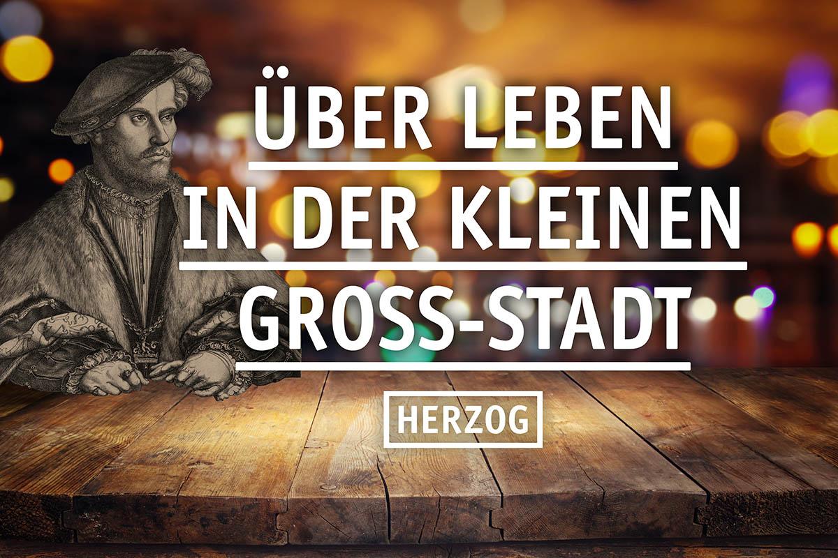 HERZOG über Leben in der kleinen Gross-Stadt | Foto: ©tomertu - stock.adobe.com