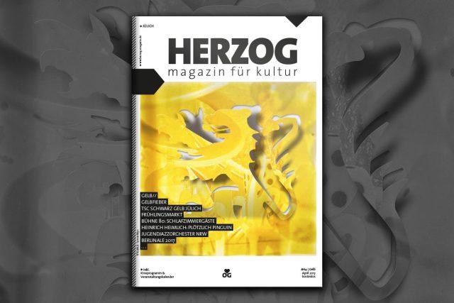 HERZOG Magazin #64 - Gelb