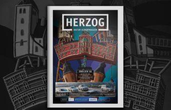 Cover des HERZOG Magazin Nr. 73 Januar