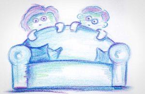 Der Babybegrüßungsdienst | Grafik: Sebastian von Wrede