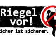Mit diesem Logo macht die Polizei auf mehr Sicherheit vor Einbrechern aufmerksam. Logo: Polizei