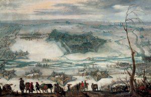 Pieter Snayers, Die Belagerung der Festung Jülich 1621/1622, 2. Viertel 17. Jahrhundert, Museum Zitadelle Jülich Foto: Museum Zitadelle Jülich