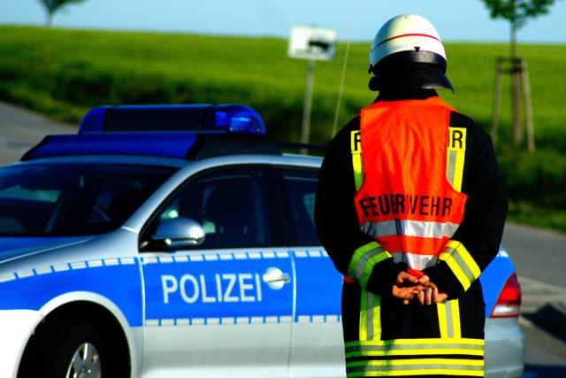 Einsatz für Feuerwehr und Polizei. Foto: Pixabay