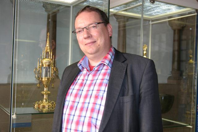 Guido von Büren ist neuer Kirchenkurator der Pfarrei Heilig Geist Jülich. Foto: Dorothée Schenk