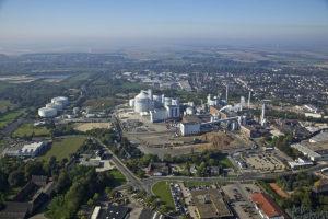 Die Zuckerfabrik Jülich wächst seit der Werksgründung 1880 kontinuierlich. Foto: Zuckerfabrik