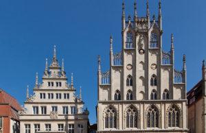 Das Rathaus und Stadtweinhaus können Mitfahrer bei Kreis-Düren-Tag erkunden. Foto: MünsterViewWitte 2012