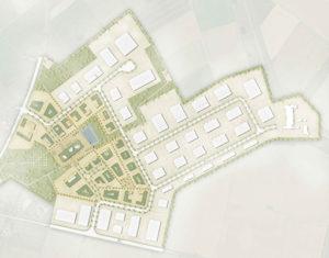 Der Masterplan für den Brainergy-Park. Foto: Stadt Jülich