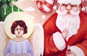 Christkind vs Weihnachtsmann | Illustration: Sophie Dohmen