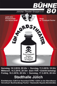 Plakat Bühne 80