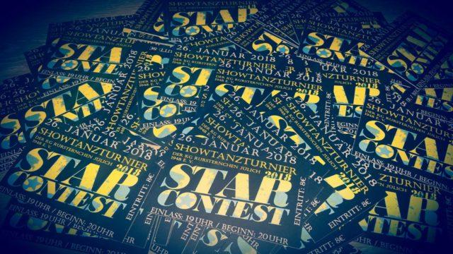 Tickets für den StarContest | Foto: Verein