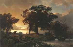 J. W. Schirmer - Autumnal Storm. Foto: Museum Zitadelle