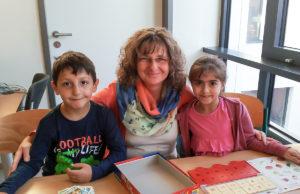 Mirena Kraus und zwei ihrer Schützlinge | Foto: HERZOG
