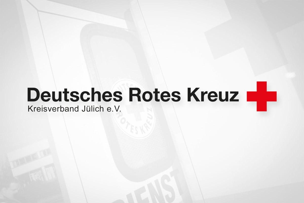 Deutsches Rotes Kreuz, DRK Jülich Logo