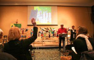 Zum Ersten, Zweiten, Dritten im Mädchengymnasium Jülich | Fotos: Ariane Schenk