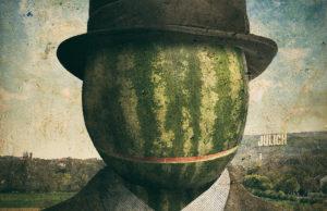 Melone oder Belgien-Slam   Grafik: HERZOG
