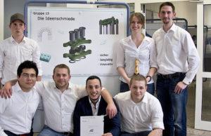 bei Pro8 tüfteln die Studenten der FH Aachen um das beste Projekt