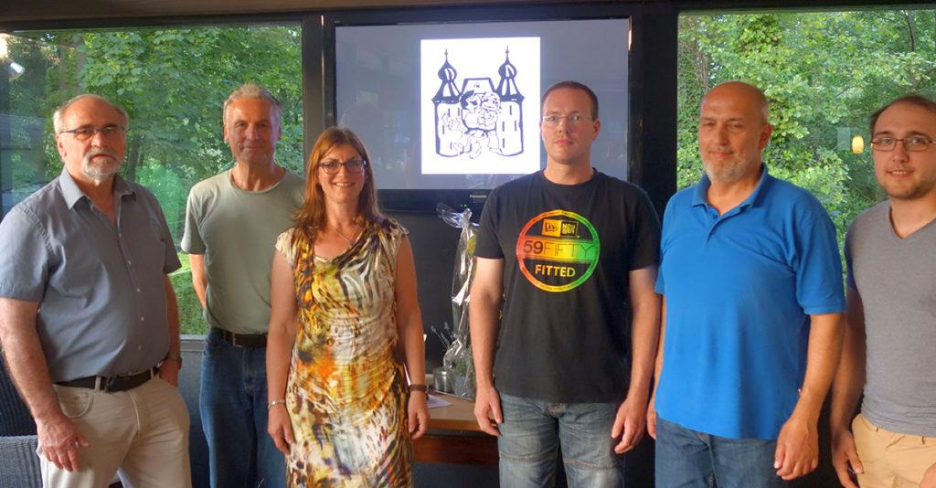 Der neue Vorstand des Jülicher Judoclubs. Foto: Verein