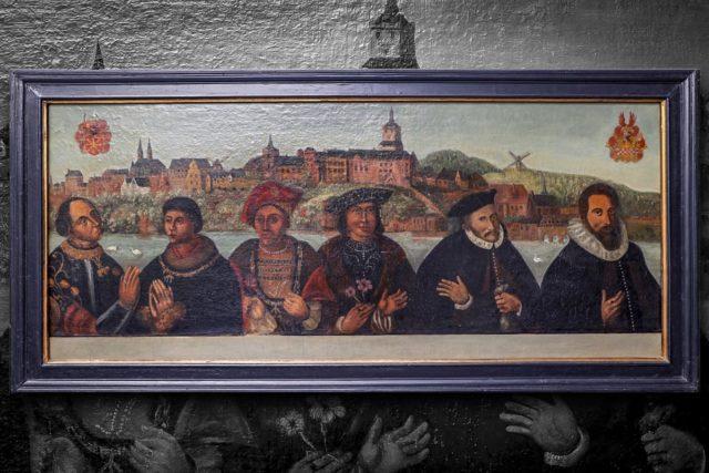 Sechs Herzöge in einem Bild | Foto: Museum Zitadelle