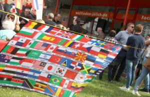 Festakt zum Jubiläum des Eine-Welt-Landens. Foto: Dorothée Schenk