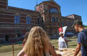 Jülicher Stadtmarketing lud zum 3. Renaissance-Picknick in die Zitadelle