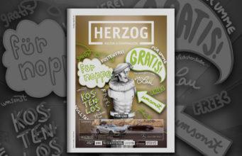 HERZOG Magazin Jülich Cover Ausgabe 80 August 2018