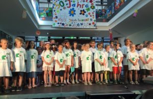 """Das Musical """"Der kleine Tag"""" führte der Schulchor der KGS auf. Foto: Schule"""