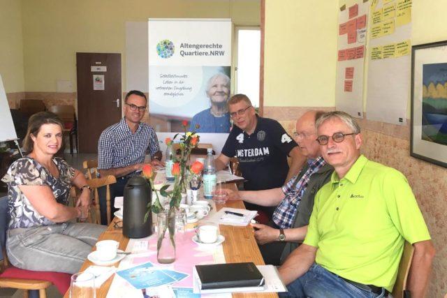 Kooperationspartner wollen das Nordviertel in Bewegung bringen. Foto: Stadt Jülich