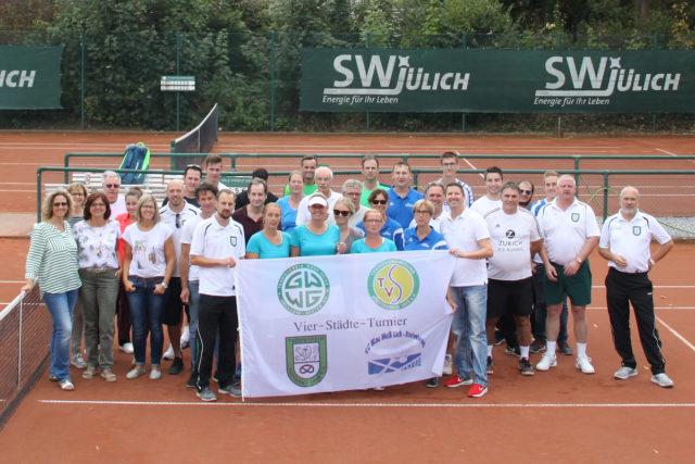Teilnehmer des Vier-Städte-Turniers 2018. Foto: Dr Jörg Möller