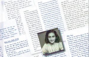 """Titelbild des Buches """"Briefe an Anne Frank."""""""