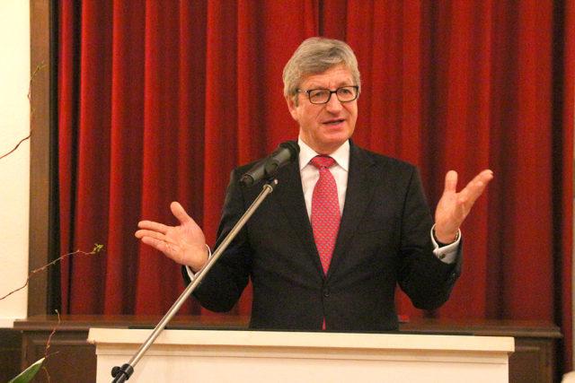 Prof. Wolfgang Marquardt. Foto: Arne Schenk