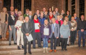 In der Dürener Marienkirche erhielten die Teilnehmer ihre Zertifikate. Foto: privat