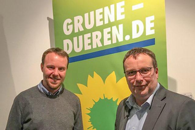 Sven Giegold und Oliver Kriescher (r). Foto: privat