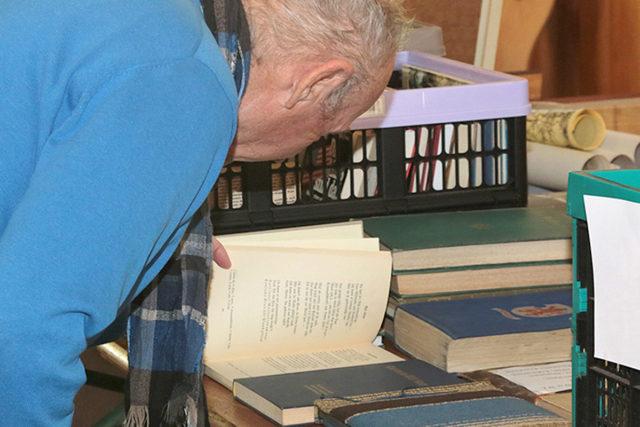 Literatur, die tief blicken lässt. Fotos: Dieter Benner