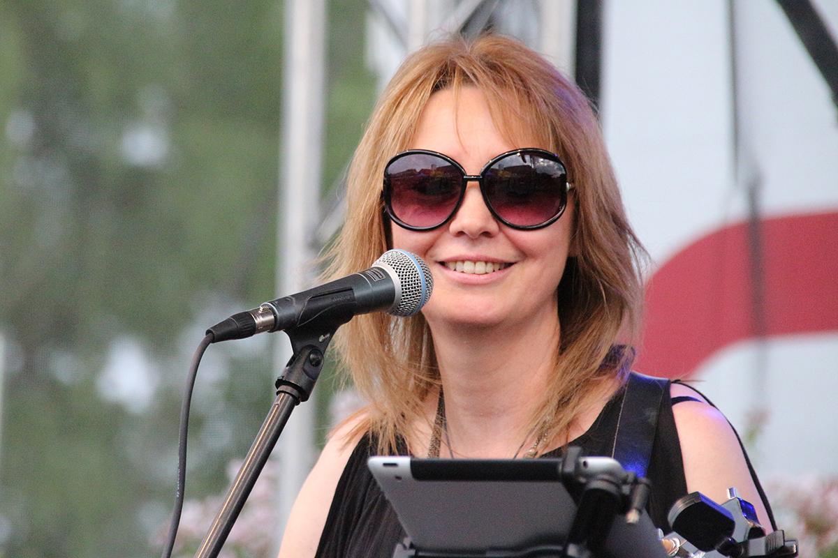 Virgina Lisken ist auf den Bühnen in und um Jülich zu Hause. Foto: Dorothée Schenk