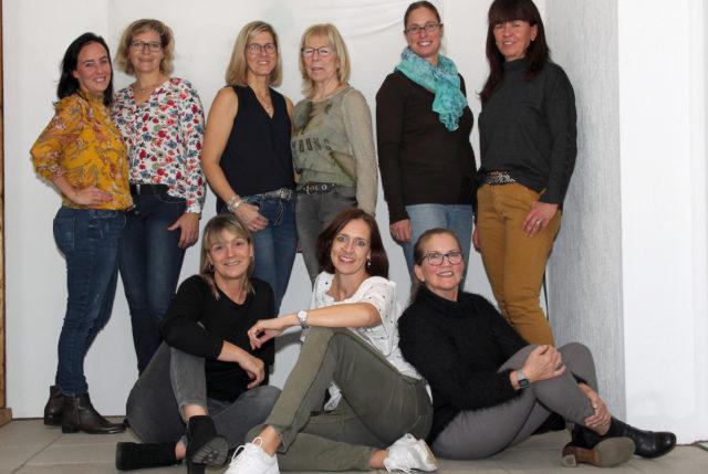 Die erfolgreichen Damen 40 des TV Grün-Weiß Welldorf-Güsten e. V.. Foto: Dr. Jörg Möller
