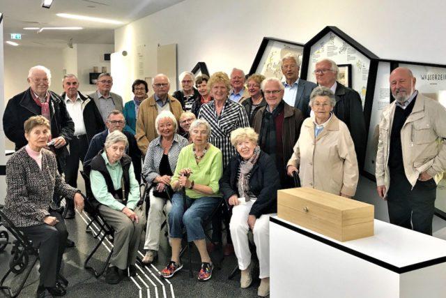 Die Seniorenunion besucht das Papiermuseum Düren. Foto: SU, Rolf Berns
