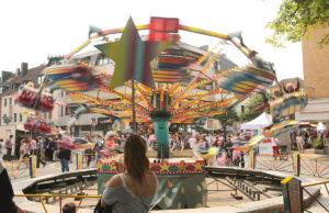 Bei Stadtfest ging es mächtig rund. Foto: Dieter Benner