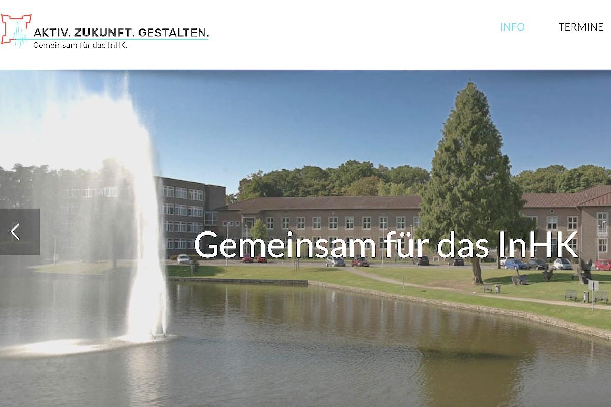 Screenshot https://zukunftsstadt-juelich.de