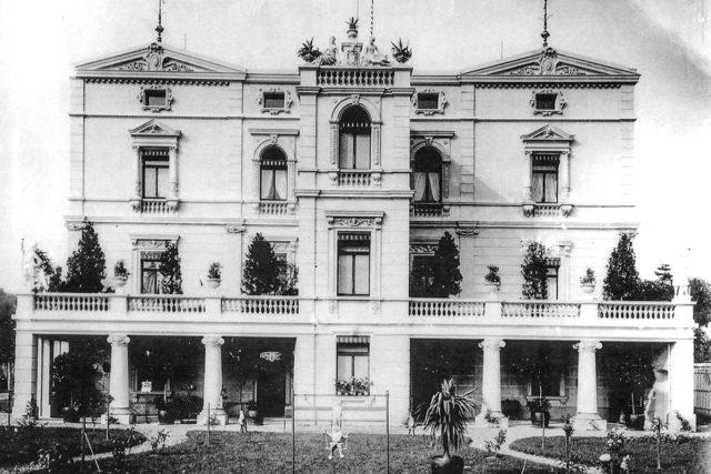 Villa Buth in der Gründerjahren um 1900. Foto: Untere Denkmalbehörde