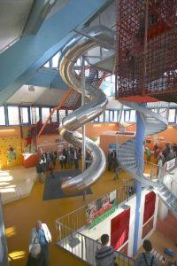 Indoor-Spielplatz im JuFa. Foto: Rudi Böhmer