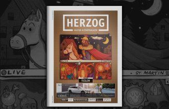 HERZOG Magazin Jülich Cover Ausgabe 107 November 2020 Teilen