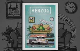 HERZOG Magazin Jülich Cover Ausgabe 110 Februar 2021